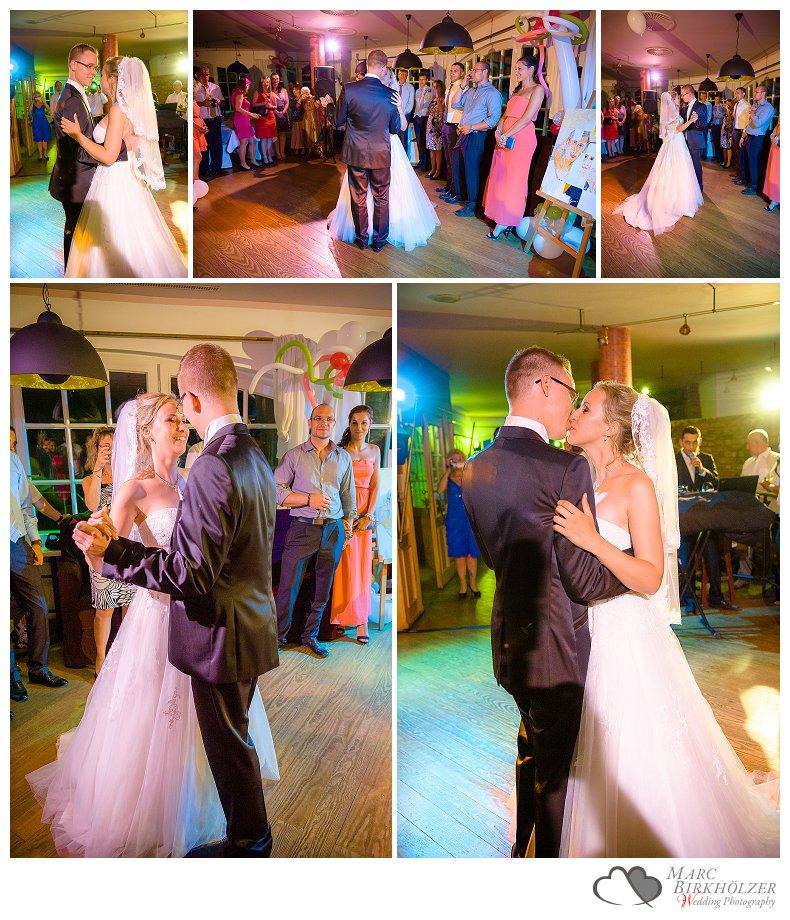 Hochzeitsfotos von der Feier